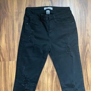 Judy Blue Jeans - Judy Blue Night Train Distressed Skinny Jeans